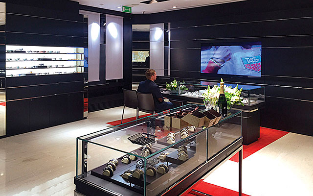 Professional furniture for jewelers